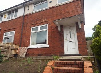 Thumbnail 3 bed semi-detached house to rent in Tennyson Road, Middleton, Manchester