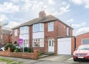 Thumbnail 3 bed semi-detached house for sale in Glebe Avenue, York