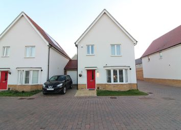 Thumbnail 4 bed link-detached house for sale in Woodside Close, Grays