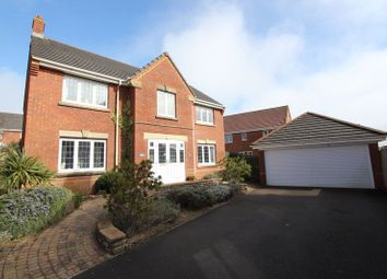 Thumbnail 4 bed detached house for sale in Heol Y Pentir, Rhoose, Barry