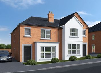 Thumbnail 3 bed semi-detached house for sale in Regent Park, North Road, Newtownards