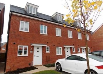 Thumbnail 3 bed end terrace house to rent in East Works Drive, Cofton Hackett