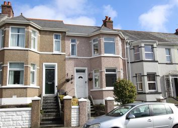Thumbnail 3 bedroom terraced house for sale in Ridge Park Avenue, Mutley, Plymouth