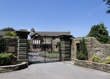 Thumbnail 4 bed detached house for sale in Spire Hollin, Glossop