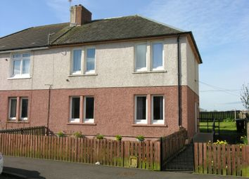 Thumbnail 1 bedroom flat for sale in Stewart Crescent, Newmains