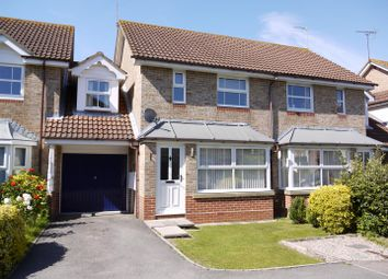Thumbnail 3 bed link-detached house for sale in Dyall Close, Burgess Hill