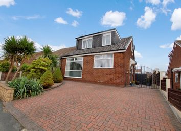 Thumbnail 3 bed semi-detached bungalow for sale in Redcar Road, Little Lever, Bolton