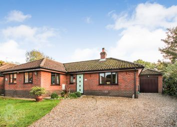 Thumbnail 3 bed detached bungalow for sale in Park Close, Barford, Norwich