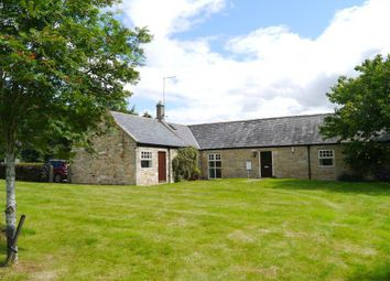 Thumbnail 4 bed detached bungalow for sale in Newton Red House Farm, Mitford, Morpeth