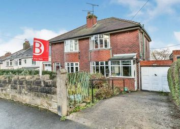 Thumbnail 3 bed semi-detached house for sale in Haggstones Road, Worrall, Sheffield, South Yorkshire
