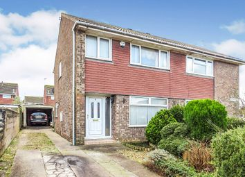 3 bed semi-detached house for sale in Lucas Close, Barry CF63