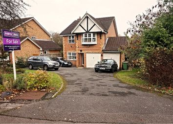 Thumbnail 4 bed detached house for sale in Upper Northam Close, Hedge End