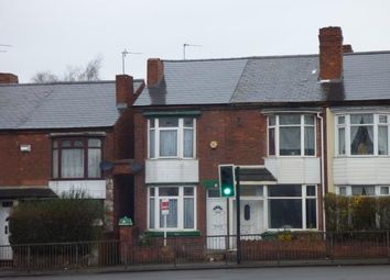 Thumbnail 2 bedroom terraced house for sale in Wolverhampton Road, Walsall, West Midlands