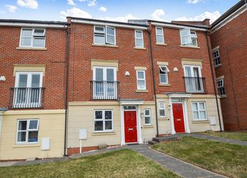 Thumbnail 4 bed terraced house to rent in Sandhills Avenue, Hamilton, Leicester