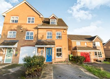 Thumbnail 3 bed town house for sale in Rycroft Meadow, Beggarwood, Basingstoke