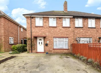 Thumbnail 3 bed semi-detached house for sale in The Larches, Hillingdon, Middlesex