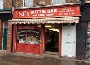Thumbnail Restaurant/cafe for sale in 58 Market Street, Birkenhead