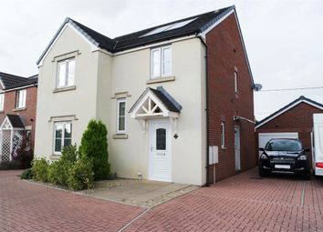 Thumbnail 4 bed detached house for sale in Clos Cae Ffynnon, North Cornelly, Bridgend, Mid Glamorgan