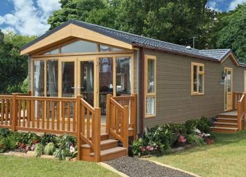 Thumbnail 2 bed lodge for sale in Tanner Farm Park, Marden, Kent