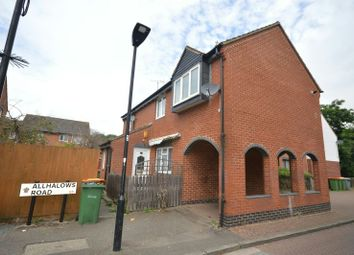 Thumbnail 2 bed flat for sale in Allhallows Road, Beckton