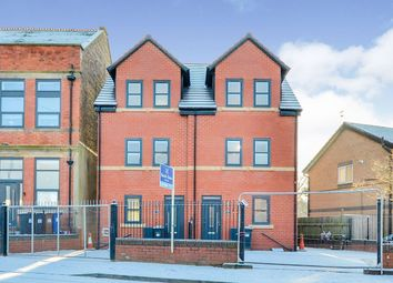 Thumbnail 4 bedroom semi-detached house for sale in Rowsley Grove, Reddish, Stockport, Cheshire