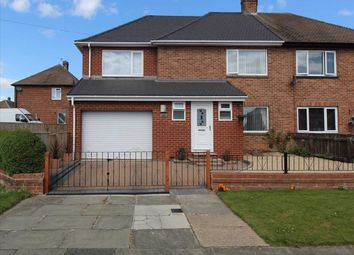 Thumbnail 3 bed semi-detached house for sale in Clifton Road, Mayfield Glade, Cramlington
