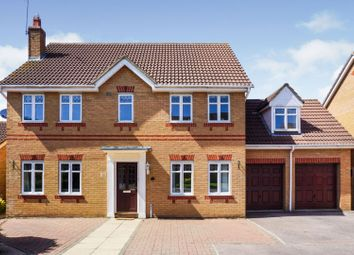 Thumbnail 5 bed detached house for sale in Cleeve Way, Wellingborough