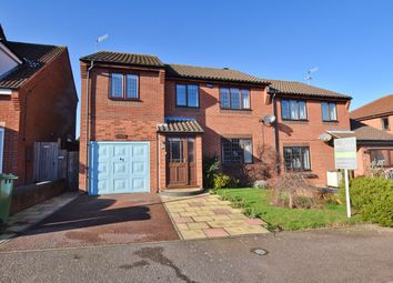Thumbnail 4 bedroom semi-detached house to rent in Childs Way, Sheringham