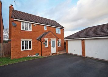 Thumbnail 4 bed detached house for sale in Ticknall Close, Redditch
