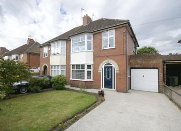 Thumbnail 3 bed semi-detached house for sale in Boroughbridge Road, York