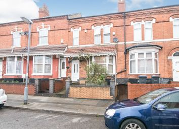 Thumbnail 4 bed terraced house for sale in Avondale Road, Sparkhill, Birmingham