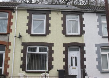 Thumbnail 3 bed terraced house to rent in Bryntaf, Aberfan, Merthyr Tydfil