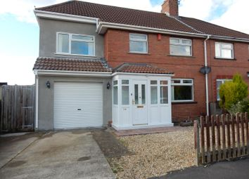 Thumbnail 4 bed semi-detached house for sale in Cowdray Road, Knowle, Bristol