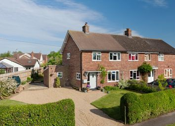 Thumbnail 3 bedroom semi-detached house for sale in Hayter Close, West Wratting, Cambridge