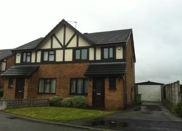 Thumbnail 3 bed semi-detached house to rent in Henllan Gardens, Sutton, St Helens