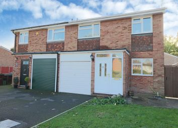 Thumbnail 3 bed semi-detached house for sale in Ashdown Avenue, Farnborough