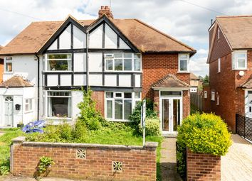 3 bed semi-detached house for sale in Garden Road, Walton-On-Thames KT12