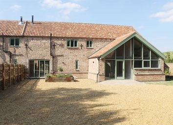 Thumbnail 4 bedroom barn conversion for sale in Stow Road, Wiggenhall St. Mary Magdalen, King's Lynn
