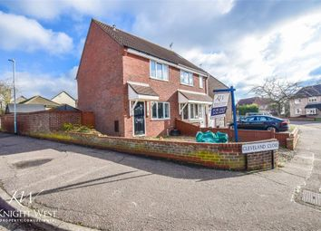 Thumbnail 2 bed semi-detached house for sale in Cleveland Close, Highwoods, Colchester, Essex