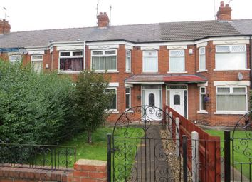 Thumbnail 3 bedroom terraced house for sale in Sutton Road, Hull