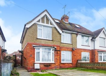 Thumbnail 3 bed semi-detached house for sale in Wartling Road, Eastbourne