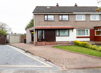 Thumbnail 3 bed semi-detached house for sale in Westermains Avenue, Kirkintilloch, Glasgow