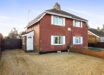 Thumbnail 3 bed semi-detached house for sale in Money Bank, Wisbech