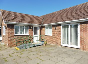 Thumbnail 3 bedroom detached bungalow for sale in Crescent Road, Whittlesey, Peterborough