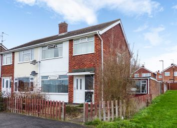 Thumbnail 3 bed semi-detached house for sale in Highfield Walk, Yaxley, Peterborough