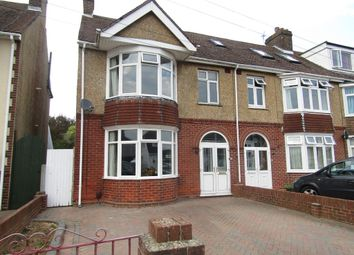 Thumbnail 3 bed end terrace house to rent in Romsey Avenue, Fareham