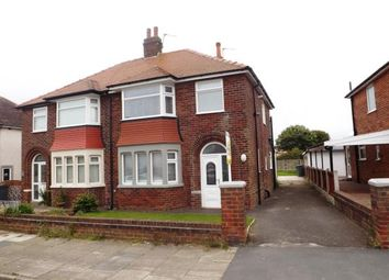 Thumbnail 3 bed semi-detached house for sale in Everest Drive, Blackpool, Lancashire, United Kingdom