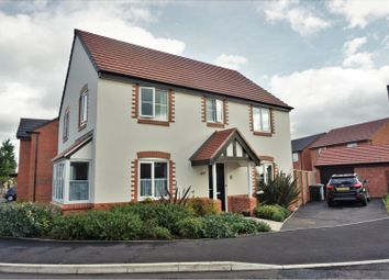 Thumbnail 4 bed detached house for sale in Copper Beech Road, Crewe