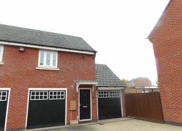Thumbnail 2 bed flat for sale in Willowbrook Way, Rearsby, Leicester, Leicestershire