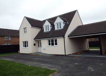 Thumbnail 4 bed detached house to rent in Long Lane, Feltwell, Thetford